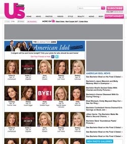 Usmagazine.com Elimination Grid